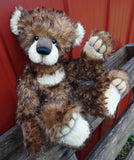 "KITS - 15"" Frido kid mohair and alpaca bear"