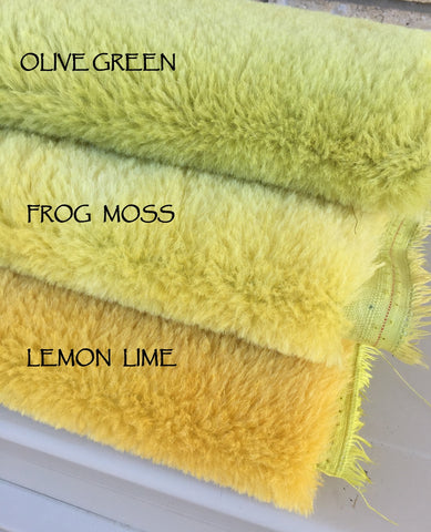 Medium Alpaca Lemon Lime - Fat 1/4m  - FY017