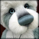 Guthrie - 23in hand dyed ALPACA Artist Bear by Emmas Bears - OOAK