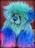 Hank - 21IN faux fur bear by Emmas Bears - OOAK