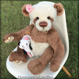 "Digital PATTERN - 28"" Belladonna Bear"