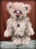 "Huckleberry - 17"" hand-dyed mohair Artist Bear by Emma's Bears - OOAK"