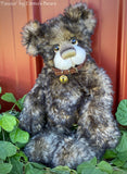 "Favour - 14"" Tipped Mohair artist bear by Emma's Bears - OOAK"