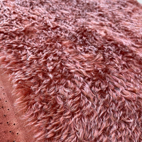 Penny Mohair/Viscose - Hand Dyed Chocolate Rose - Fat 1/8m - APR010