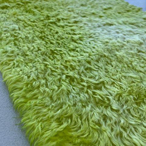 Penny Mohair/Viscose - Hand Dyed Lime - Fat 1/8m - APR015