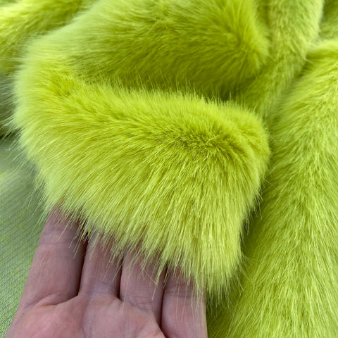 CHARTREUSE - Luxury Faux Fur - 2021 Range