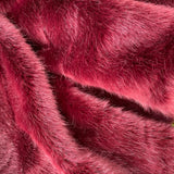 CRIMSON PLUM - Luxury Faux Fur - 2021 Range - HEAVY PILE