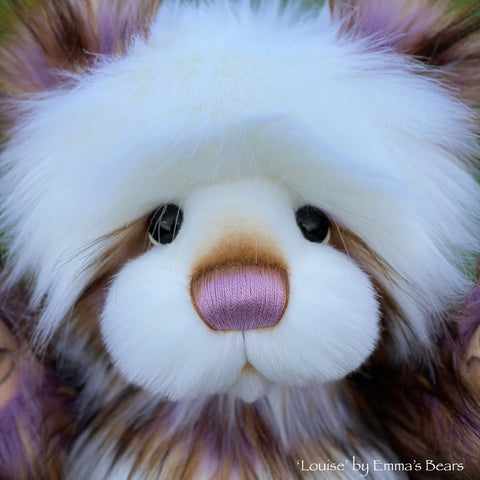 "Louise - 21"" faux fur Artist Bear by Emma's Bears - OOAK"