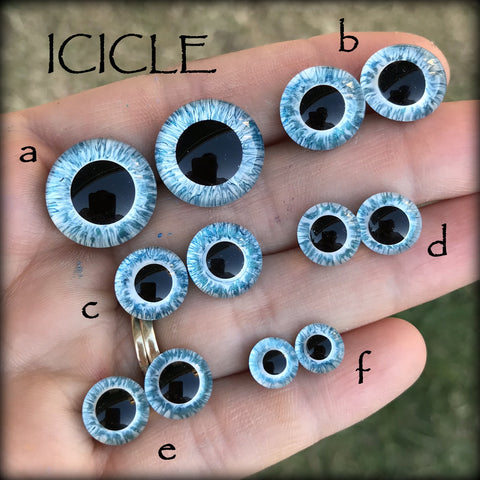 Hand Painted Eyes - ICICLE