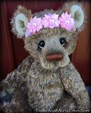 Toddler Avigail Ava - 17in MOHAIR Artist toddler style Bear by Emmas Bears - OOAK