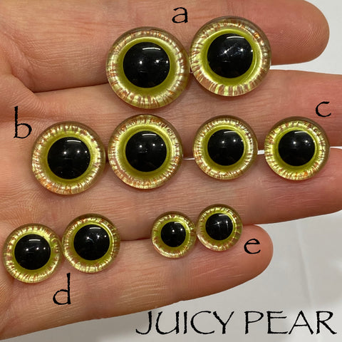 Hand Painted Eyes - Juicy Pear