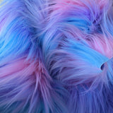 Pastel Puff - Pink, Blue and Purple Faux Fur