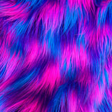 Cyber Pop - Vibrant Long Faux Fur