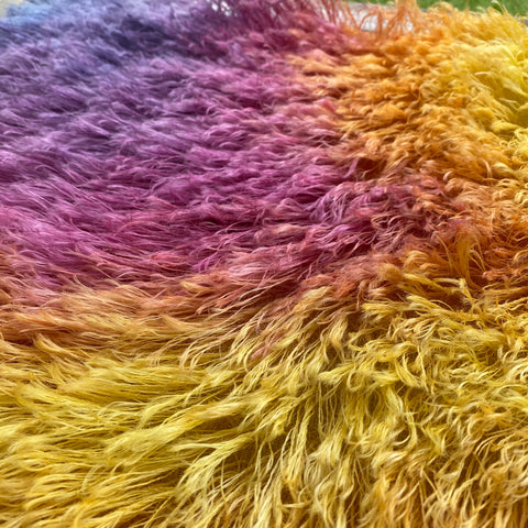 String Mohair - Hand Dyed Sunset - Fat 1/4m - JAN019