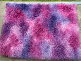Eddie Long Shaggy Mohair - Hand Dyed Fairy Kisses - Fat 1/4m - JAN023
