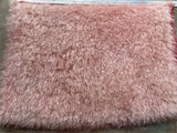 Eddie Long Shaggy Mohair - Hand Dyed Tan Blush - Fat 1/4m - JAN024