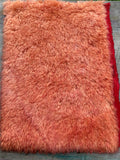 Long Alpaca - Hand Dyed Cadmium Orange - Fat 1/8m - JAN030