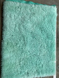 Long Alpaca - Hand Dyed Aqua Mint - Fat 1/4m - JAN034