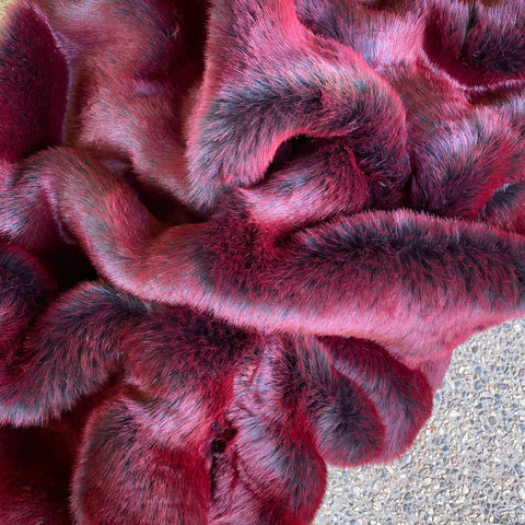 CHERRY JAM - Luxury Faux Fur - Heavy Pile - 2021 Range