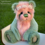 "KITS - 18"" Apple Blossom Faux Fur bear"