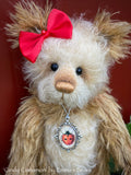 "Cindy Cinnamon - 10"" Mohair Artist Bear by Emma's Bears - OOAK"