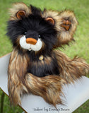 "Salem - 21"" Faux Fur Artist Bear by Emma's Bears - OOAK"