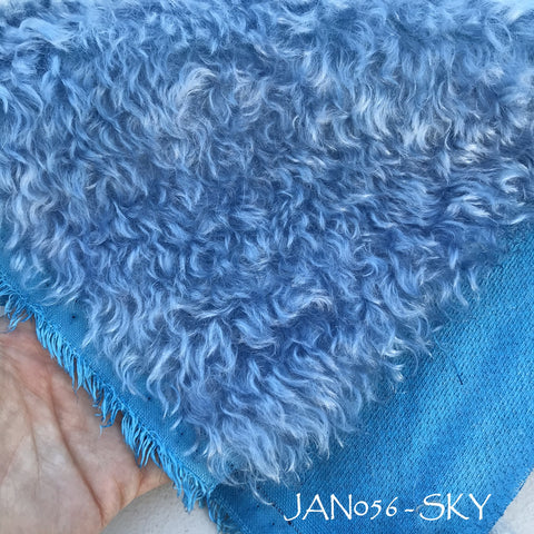 Kid Mohair - Hand Dyed SKY - Fat 1/8m - JAN056