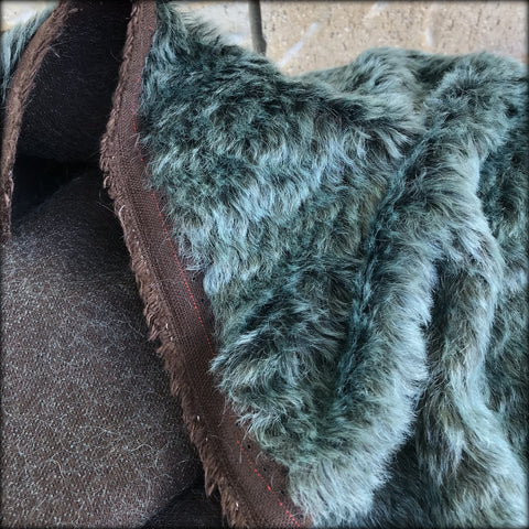 North Sea - dense wavy crimped mohair/viscose blend fur - VERY LIMITED STOCK