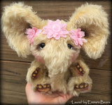 "Laurel - 10"" mohair artist elephant bear  - OOAK by Emma's Bears"