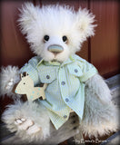 "Toddler Wesley Winston - 18"" curlylocks MOHAIR Artist toddler style Bear by Emmas Bears - OOAK"