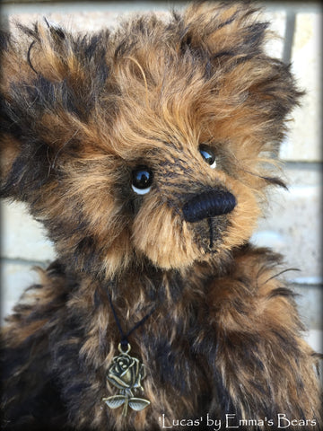 "Lucas - 10"" kid mohair bear by Emmas Bears - OOAK"