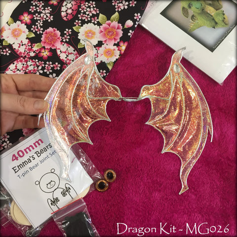KITS - Dragon Kit with Hand-Dyed Viscose - MG026
