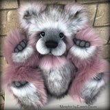 "Memphis - 21"" faux fur Artist Bear by Emma's Bears - OOAK"
