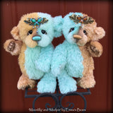 "Moonlilly - 10"" Mohair and Alpaca artist bear by Emma's Bears - OOAK"