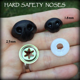 Safety Noses - Flocked and Hard