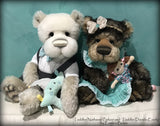 "Toddler Daniela Everly - 18"" KID MOHAIR Artist toddler style Bear by Emmas Bears - OOAK"