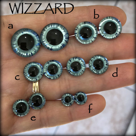 Hand Painted Eyes - WIZZARD