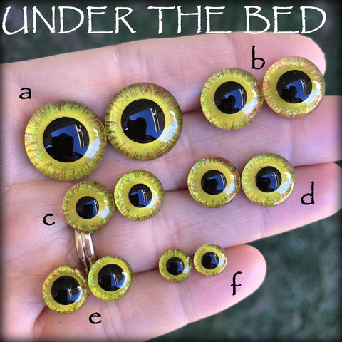 Hand Painted Eyes - UNDER THE BED