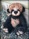 Sable - Black curly Kid Mohair