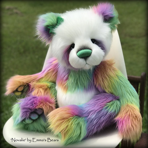"Novalie - 28"" Faux Fur Artist Bear by Emmas Bears - OOAK"