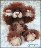 Nutmeg Cookie - 15in MOHAIR Christmas Artist Bear by Emmas Bears - OOAK
