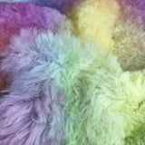 Long Alpaca - Hand Dyed Rainbow - Fat 1/8m - OCT001