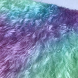 Bianca Mohair - Hand Dyed Rainbow - Fat 1/8m - OCT013