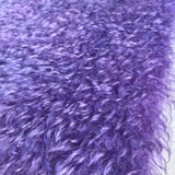 Bianca Mohair - Hand Dyed Dark Violet - Fat 1/8m - OCT016