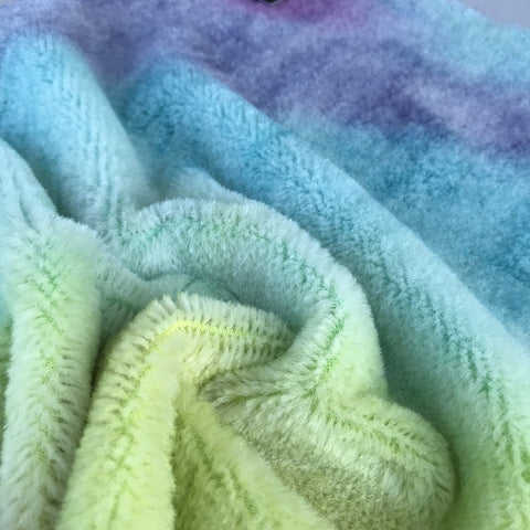 Short Alpaca  - Hand Dyed Pastels - Fat 1/8m  - OCT023