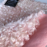 Curly Kid Mohair - Hand Dyed Porcelain Pink - Fat 1/8m - OCT033