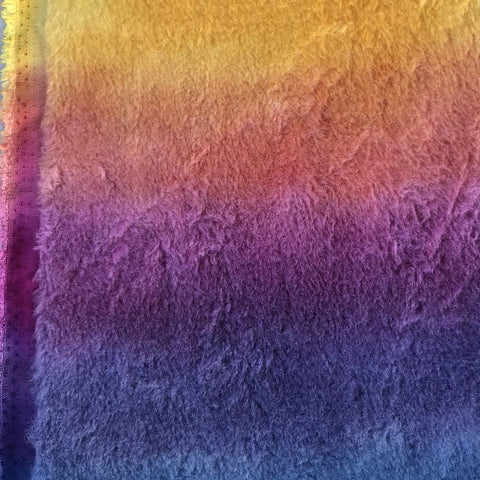 Dense Wool - Hand Dyed Sunset Sky - Fat 1/8m - OCT039