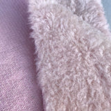 Dense Wool - Hand Dyed Porcelain Pink - Fat 1/8m - OCT043