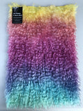 Curlylocks Mohair - Hand Dyed Rainbow - Fat 1/8m - OCT051