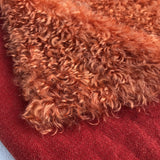 Curly Kid Mohair - Hand Dyed Burnt Paprika - Fat 1/4m - OCT117